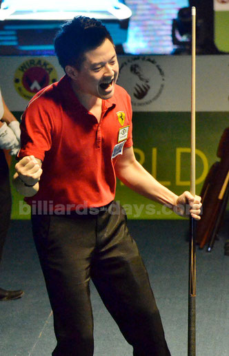 Ko Pin Yi from Chinese Taipei won 2015 World Pool Championship