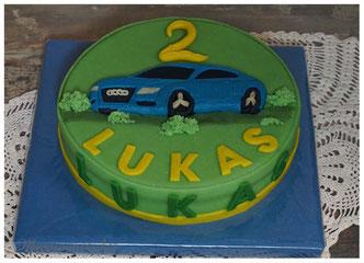 Kindergeburtstag Torte, kindergeburtstagstorte für jungs, Polizeiauto Marzipan, Geburtstagstorte Kind, Geburtstagskuchen