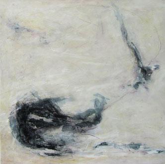 Fragmente, Mischtechnik, 80 x 80 cm, 2013