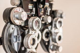 Augenärztliche Untersuchung zur Begutachtung bei den Augenärzte im Stadtturm Passau