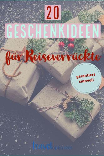 20 Geschenkideen für Weihnachten - Pinterest-Bild