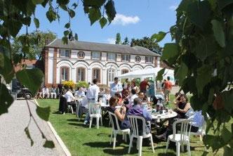 Salle de réception du Campreux Somme Oise Picardie