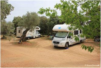 Alquezar camping