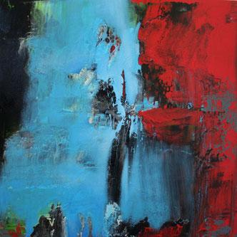 Carole Bécam - Artiste peintre - Série Espace d'un rêve - 2015