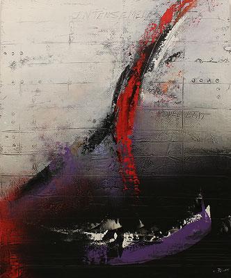 Carole Bécam - Artiste peintre - Série Des Lettres - Intensément vivant