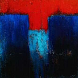 Carole Bécam - Artiste peintre - Sans Titre - Atelier Le Pouliguen