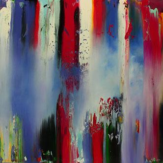 Carole Bécam - Artiste peintre - Série Espace d'un rêve - 2017 - Huile sur toile