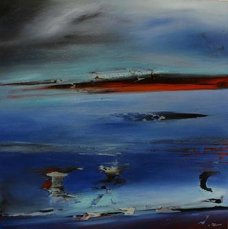 Carole Bécam - Artiste peintre - Série Espace d'un rêve - Lumière