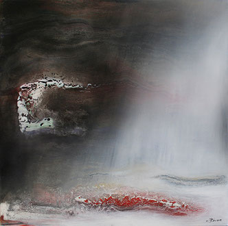Carole Bécam - Artiste peintre - Série Espace d'un rêve - La Baule