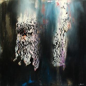 Carole Bécam - Artiste peintre - Série Espace d'un rêve - Le Pouliguen - Atelier