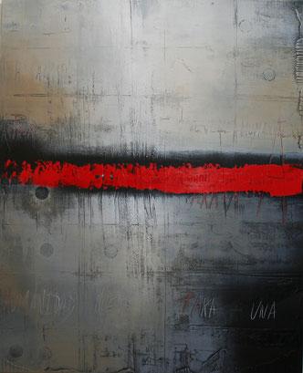 Carole Bécam - Artiste peintre - Série Noires et empreintes - Peintures originales