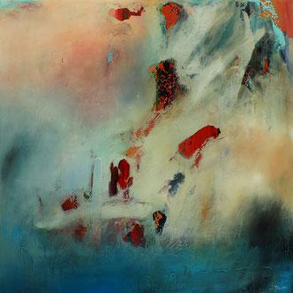 Carole Bécam - Artiste peintre - Série Espace d'un rêve - 2017 - Toiles originales