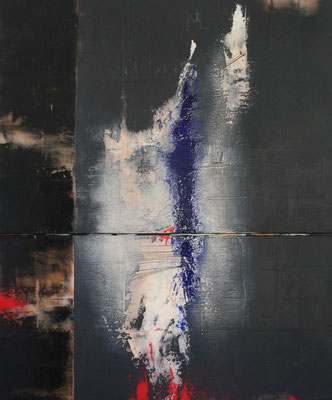 Carole Bécam - Artiste peintre - Diptyque