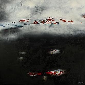 Carole Bécam - Artiste peintre - Série Espace d'un rêve - Série limitée