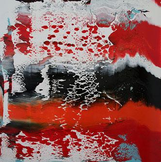 Carole Bécam - Artiste peintre - Série Le subtil aléatoire - Le Pouliguen