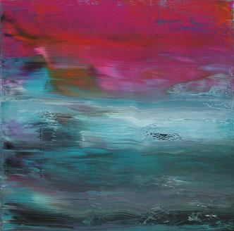 Carole Bécam - Artiste peintre - Série Le subtil aléatoire - La Baule - Le Pouliguen