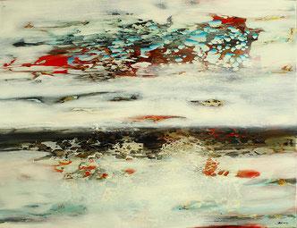 Carole Bécam - Artiste peintre - Série Espace d'un rêve - 2016