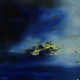 Carole Bécam - Artiste peintre - Série Espace d'un rêve - Toile originale