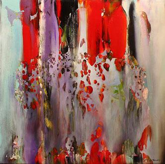 Carole Bécam - Artiste peintre - Série Espace d'un rêve - La Baule les Pins