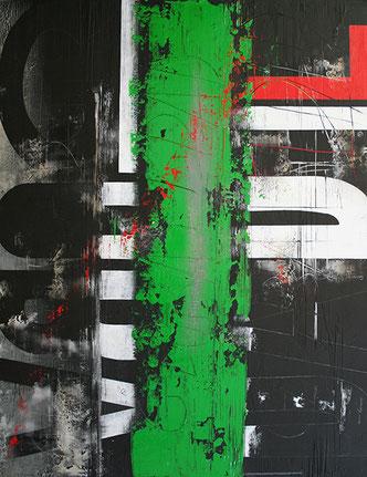 Carole Bécam - Artiste peintre - Série Des Lettres - Globalidad