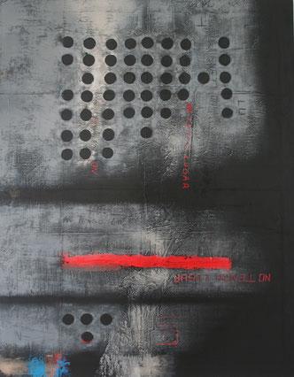 Carole Bécam - Artiste peintre - Série Noires - Huiles sur toile