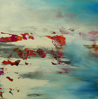 Carole Bécam - Artiste peintre - Série Espace d'un rêve