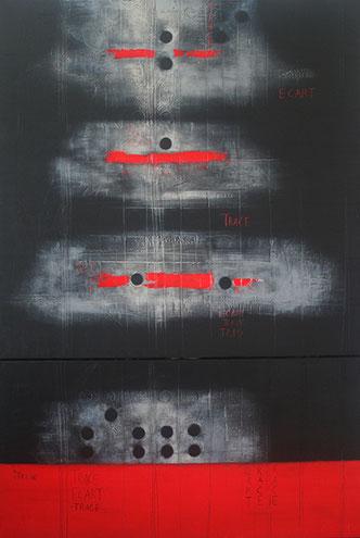 Carole Bécam - Artiste peintre - Empreintes - Toiles