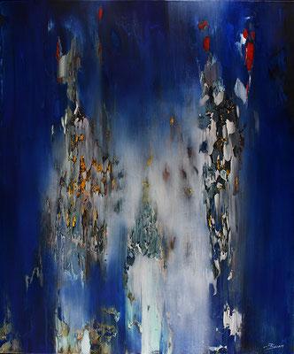 Carole Bécam - Artiste peintre - Série Espace d'un rêve - L'ascension - 2018