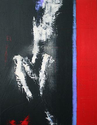 Carole Bécam - Artiste peintre - El paso - Huile sur Toile