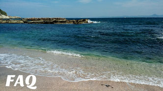 剱崎周辺の海岸