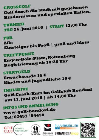 Termine und Infos - © Golf Club Domäne Niederreutin