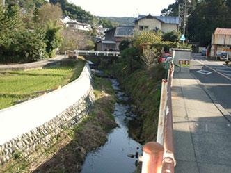 草薙神社への道