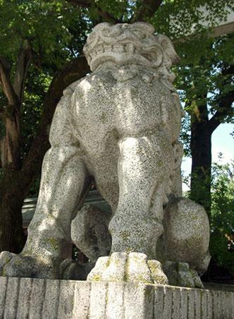 秩父神社 狛犬