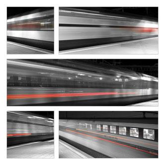 """Rote Linien"" Photo Münsingen Award 2018, Thema ""Move"""