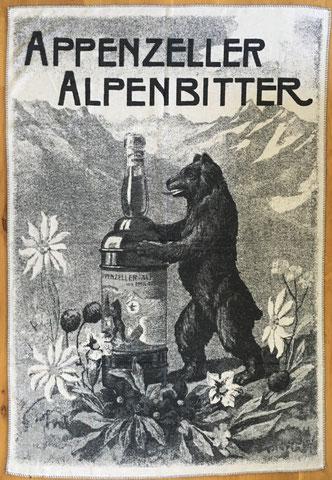 Baumwolldecke - Appenzeller Alpenbitter