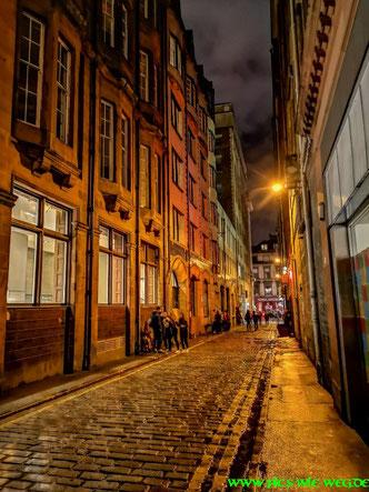 Seitenstraße in Glasgow