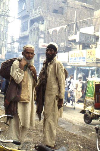 Straßenszene in Rawalpindi