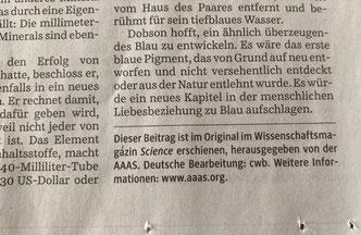 """Kai Kupferschmidt: """"Das blaue Wunder"""", SZ, 6.7.2019 (Ausschnitt wie von Kupferschmidt auf Twitter veröffentlicht))"""