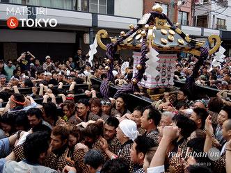 浅草神社, 本社三之宮神輿, 三社祭