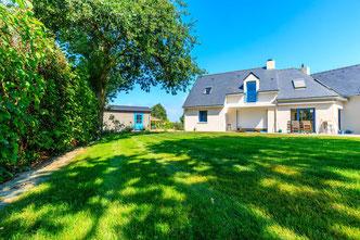 Gazon et engazonnement pour que votre jardin soit splendide, paysagiste manupaysage Guérande, La Baule, Piriac, mesquer