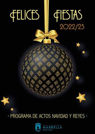 Programación navideña en Marbella