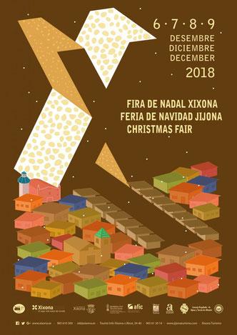 Programa de la Fira de Nadal de Xixona