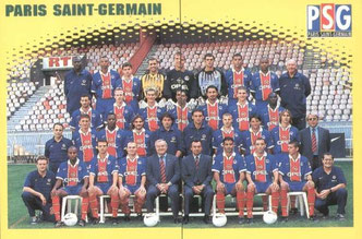 N° 268 et 269 - Equipe PSG