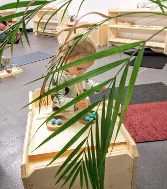 atelier activités enfant Montessori Clermont