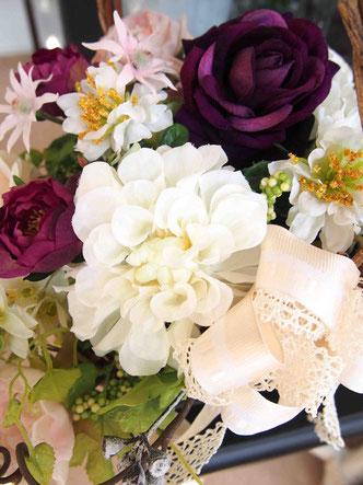 アーティフィシャルフラワー,アートフラワー,シルクフラワー,造花,フェイクフラワー,開院開業祝い,還暦祝い,インテリアフラワー,ショールーム,店舗ディスプレイ