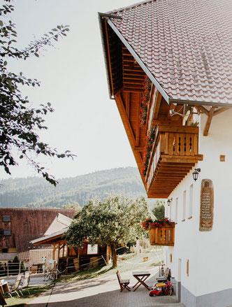 Küche FeWo Bauernhof Schultheisshof Steinach
