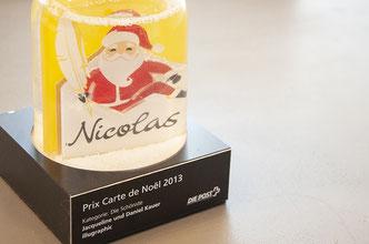 illugraphic – Prix Carte de Noel der Schweizerischen Post