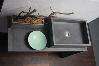 Beton Waschbecken By Nonnast Raum Beton Design