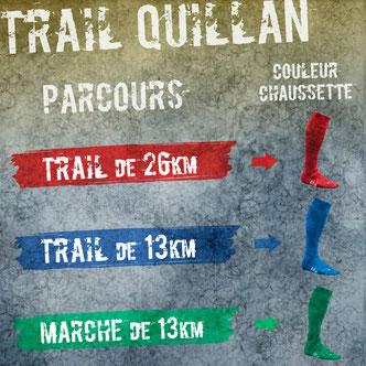 trail quillan couleur chaussettes