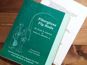 編集者時代に資料として使っていた著作がこちら『Fiber Glass Fly Rods』。勉強好きな方めがけて編まれた貴重な資料本です。しかしながら、20年ちかく前に刊行しているあたりはさすが。今のブームを予測してなのか、まさに慧眼そのものです。